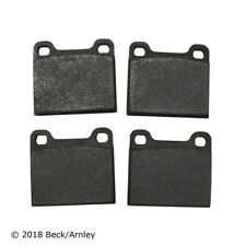 Disc Brake Pad Set-FWD Rear,Front Beck/Arnley 089-0407