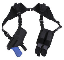 tactical shoulder holster CCW Ambidextrous With 2 Magazine Pouches Rothco 10985