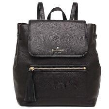 NWT Kate SpadeKacy Chester Street Leather Backpack Black WKRU4071 $379