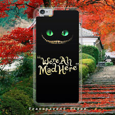 ALICE IN WONDERLAND/CHESHIRE CAT/MAD/PHONE CASE COVER FOR IPHONE/SAMSUNG/HUAWEI