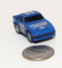 Small Micro Machine 80's Ford Thunderbird NASCAR Race Car marked number 22