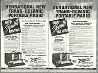 Microstatic FM Model 10H571 Vintage Print Ad 1940 Zenith Radio