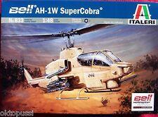 ITALERI 833 Bell ah-1w SUPER COBRA * 1:48 Elicottero Modello Kit-NUOVO