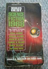 000 Worlds Best Science Fiction 1968 PB Book Donald Wollheim Ace Book