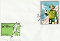 17 JUNE 1994 USA '94 WORLD CUP COMMEMORATIVE MINIATURE SHEET FIRST DAY COVER