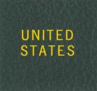 Scott LABEL For United States Green Album /Binder & Slipcase Gold Lettering NEW