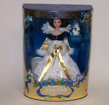 Princess Snow White Barbie Doll w/Bunny Christmas Holiday Ornament Disney 1998