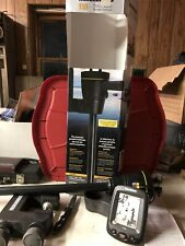Humminbird - Fishing Buddy 110 with Clamp - Portable Fish Finder *read*