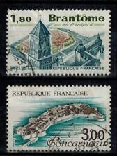 (a18) timbres France n° 2253/2254 oblitérés année 1983