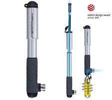 Topeak Hybrid Cohete HP con CO2 Opción, bomba de bicicleta mini compacto