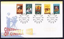 Australia 1995 Cinema Centenary Peel Stick Apm27920 First Day Cover