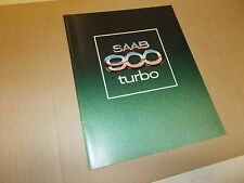 Saab NOS Sales Brochure 1979  900 Turbo