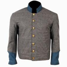 10Code Shell Jacket Civil War Confederate Enlisted Artillery Grey