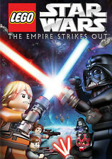 Star Wars Empire Strikes Back LEGO Movie Adaptation The Empire Strikes Out DVD