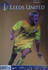 Programm UEFA Cup 2002/03 Leeds United - Malaga