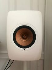 KEF LS50W Wireless Bookshelf Speakers White/Copper