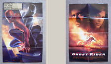 2in1 movie poster: SPIDER-MAN 3 & GHOST RIDER, Columbia pictures, Marvel, film