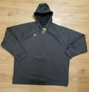 Nike Air Jordan Alpha Therma Pullover Hoodie Gray AR4311 060 New Men Sz 3XL 4XL