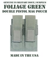 SPECTER GEAR 278 FOLIAGE GREEN MOLLE MOUNT DOUBLE PISTOL MAG POUCH US MILITARY