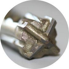 SDS PLUS Hammerbohrer Betonbohrer Steinbohrer Quadro - X Kreuzschneide 4 - 25 mm