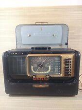 New ListingVintage 1940s Zenith Wavemagnet - Trans Oceanic Tabletop Radio Works!