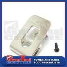 Dewalt Belt Clip Hook & Screw For 10.8v Sub Compact Cordless Drill Driver DCD710