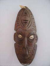 masque océanien Papouasie tribal art