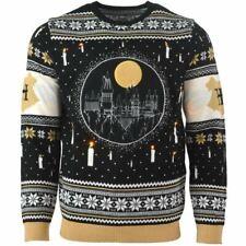 Numskull Christmas Xmas Jumper Harry Potter Hogwarts LED UK: XXL / US: XL New