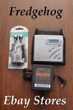 SONY MZ-R500 PORTABLE WALKMAN MINIDISC  PLAYER/ RECORDER SET - PLEASE READ FULLY