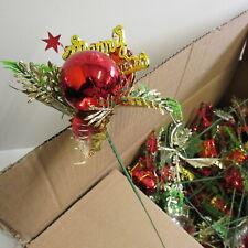 Wholesale 60 x Artificial Christmas Flower Picks Stem Decorations for Florist