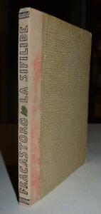 LA SIFILIDE - ediz. 1738 - FRACASTORO - latino-italiano - medicina