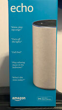 Amazon Echo (2nd Generation) Smart speaker with Alexa, Sandstone Fabric, New