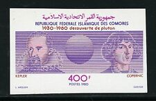Astronomie Astronomy 1980 Comores Komoren Kopernikus Kepler 607 U Imperf/1026