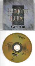 KINGDOM COME original GOLD CD (+Video) Get it on 1988 on PolyGram