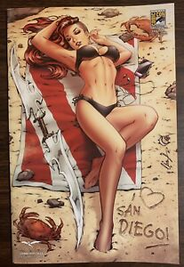 Grimm Fairy Tales Swimsuit 2016 Chatzoudis SDCC Exclusive #1/250 Zenescope Nm