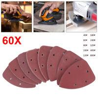 Schleifscheiben K40-180 Dreiecke Schleifpapier für Deltaschleifer 100 St Klett