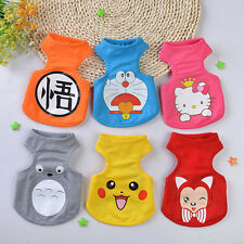 Cute Cartoon Pet Dog Clothes Clothing Jumpsuit Puppy Dress Dog Costume Apparel