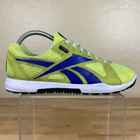 Reebok Crossfit Nano Athletic Running Shoes Womens Size 9 Neon Green / Blue