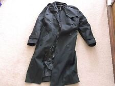 US ARMY  WOMAN'S BLACK ALL-WEATHER COAT W/ LINER SIZE 16S