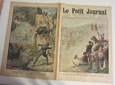 le petit journal 1910 1033 gravures Charges de floing et d'illy chasseur alpin