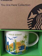 NEW Starbucks 2016 GOLD COAST Australia Your Are Here YAH mug NEW!