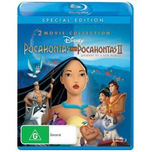 POCAHONTAS 1 - 2 : NEW Blu-Ray