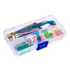 Knitting Tools Supplies With Box Kit Case Crochet Needle Hook Accessories 1 Set