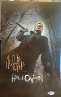 Nick Castle Signed 11x17 Photo Beckett COA. Halloween The Shape Michael Myers D1