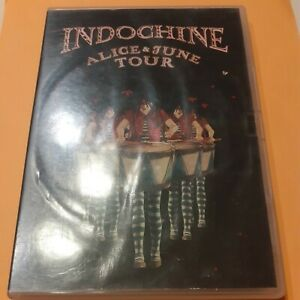 INDOCHINE - ALICE et JUNE TOUR - 2  DVD en Tbé