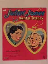 VINTAGE Paper Doll - Juliet Jones - Saalfield