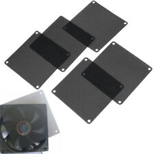 5Pcs 90mm PVC black PC fan dust filter dustproof case computer cooler cover mesh