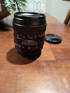 Oshiro 35mm f/2 Full Frame Popular Lens for Canon EOS