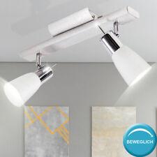 Decken Lampe ALU Wand Spot Leuchte Strahler beweglich Beleuchtung Wohn Zimmer