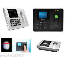 Orologio Marcatempo Registratore Impronte Digitali ID Biometrico presenze lavoro